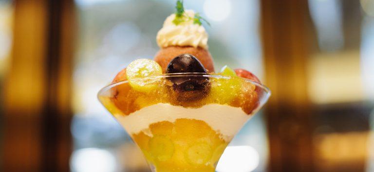 3種類の旬ぶどうを食べ比べできるのは来週まで!京橋千疋屋のぶどうのジュエルデザートで贅沢気分。