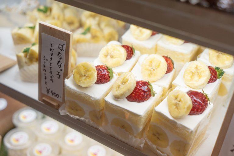 東京スカイツリーのほど近く、バナナスイーツ専門店「バナナファクトリー」。