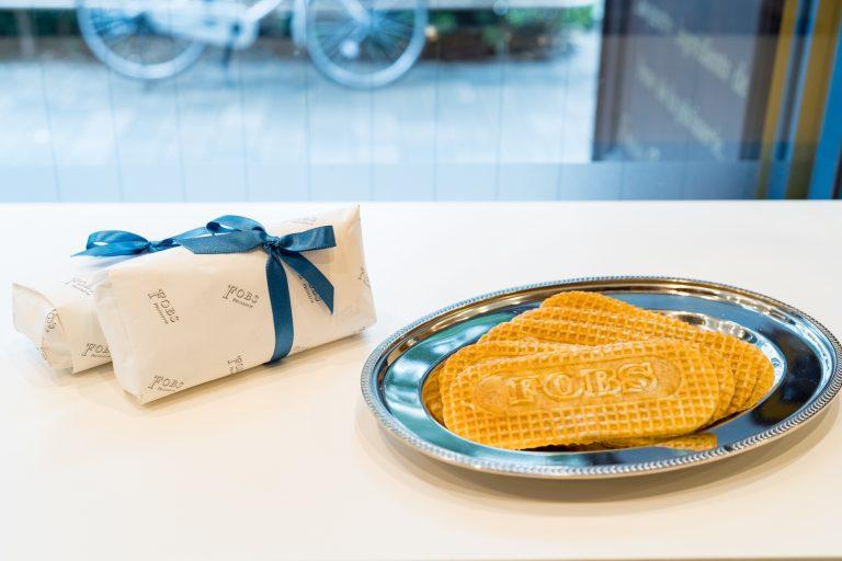 フランスの伝統菓子ゴーフレット を蔵前で。「FOBS」で出合うしゃりっとやわらかな幸せ食感